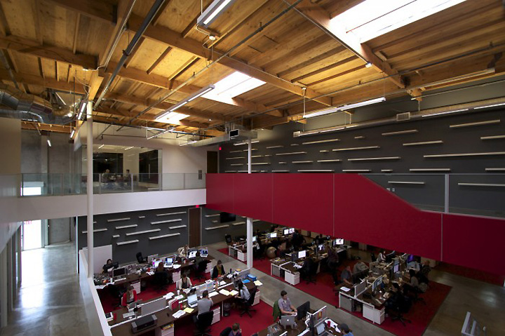 tvgla warehouse office by charles infante los angeles