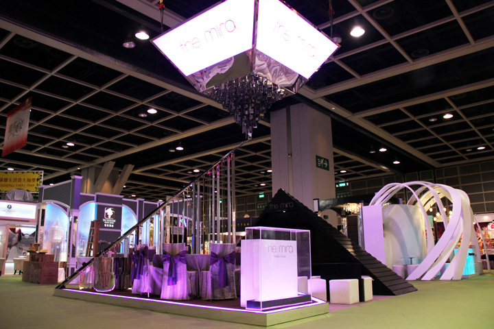Exhibition Booth Design Hong Kong : The mira hong kong booth by tableau retail