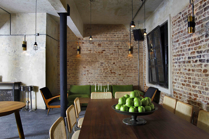 Unter restaurant caf istanbul retail design blog - Decoration industrielle vintage ...