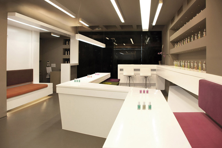 Viva La Lima beauty salon by OMADA Architecture, Athens » Retail ...