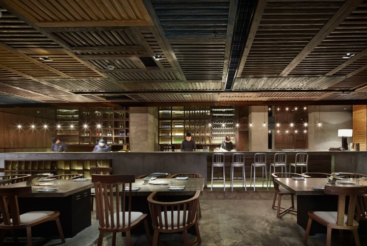 Restaurant Design International : Yakiniku master restaurant by golucci international design