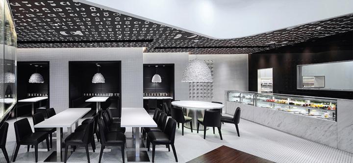 香港100 Bites甜品店设计