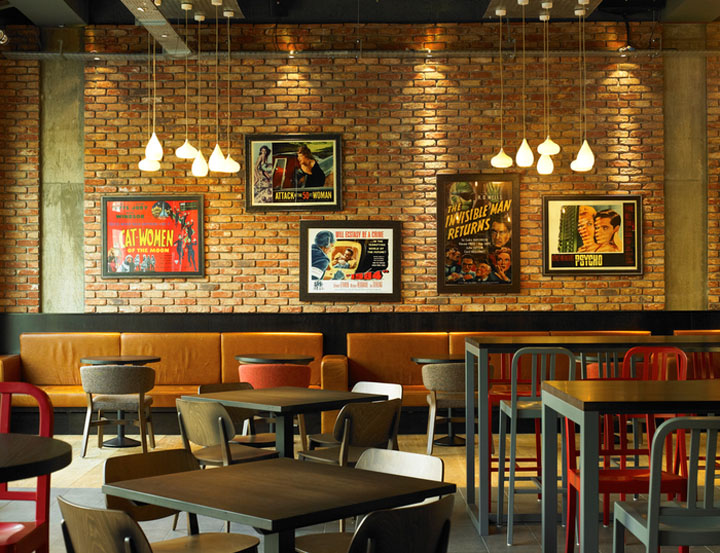 Bar restaurant by designlsm leeds uk