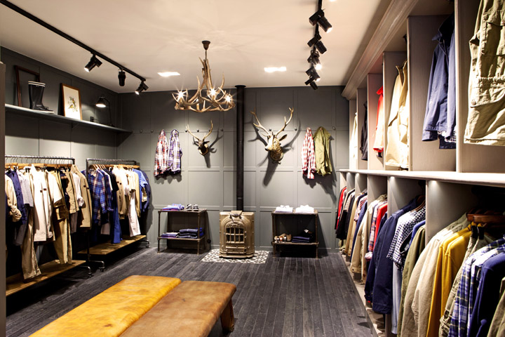 Aigle flagship store paris retail design blog - Good home decor stores image ...