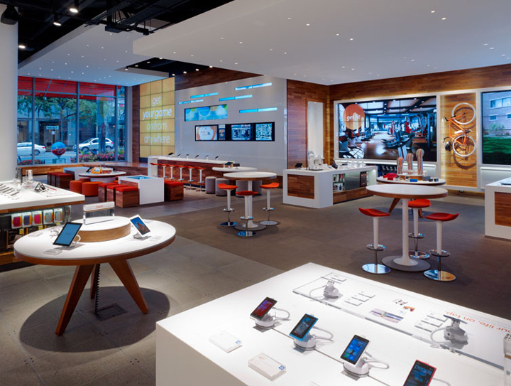 ATT Michigan Avenue Flagship Store Chicago Retail Design Blog