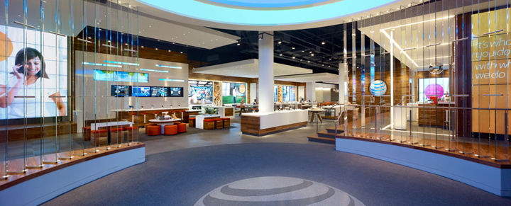 AT&T Michigan Avenue flagship store, Chicago » Retail ...