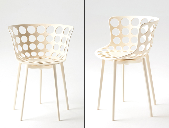 Aunts and uncles collection by philippe starck for kartell for Philippe starck chaise