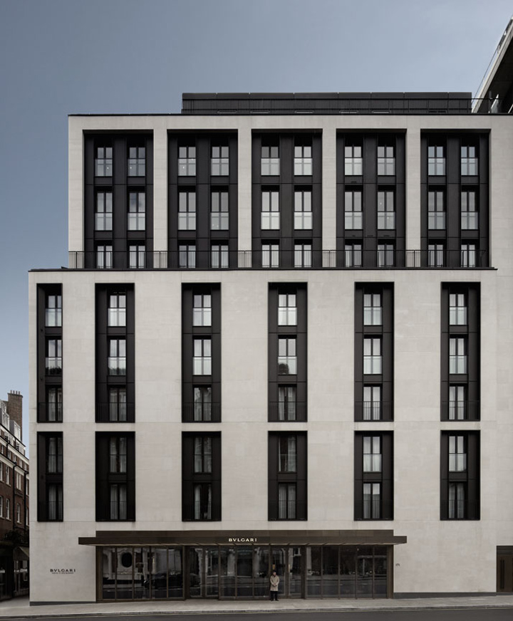 Antonio citterio patricia viel and partners project for Hotel design london