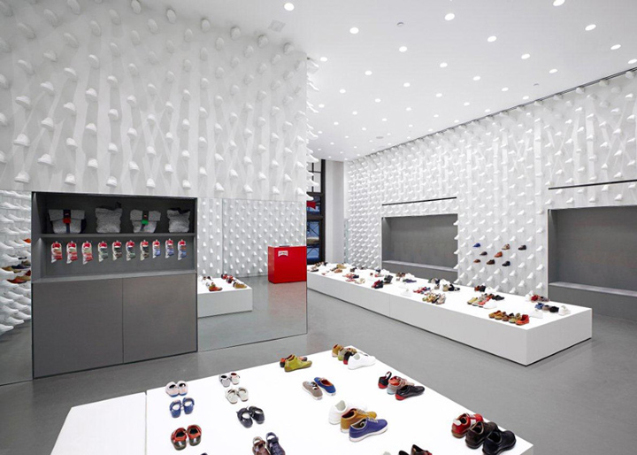 Camper store by Nendo New York 02 Camper store by Nendo, New York