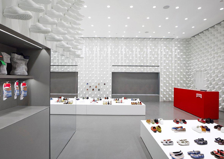 Camper store by Nendo New York 03 Camper store by Nendo, New York