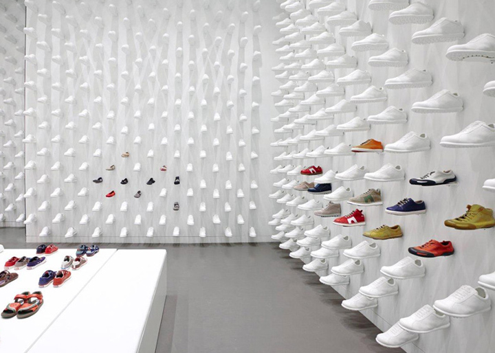 Camper store by Nendo New York 04 Camper store by Nendo, New York