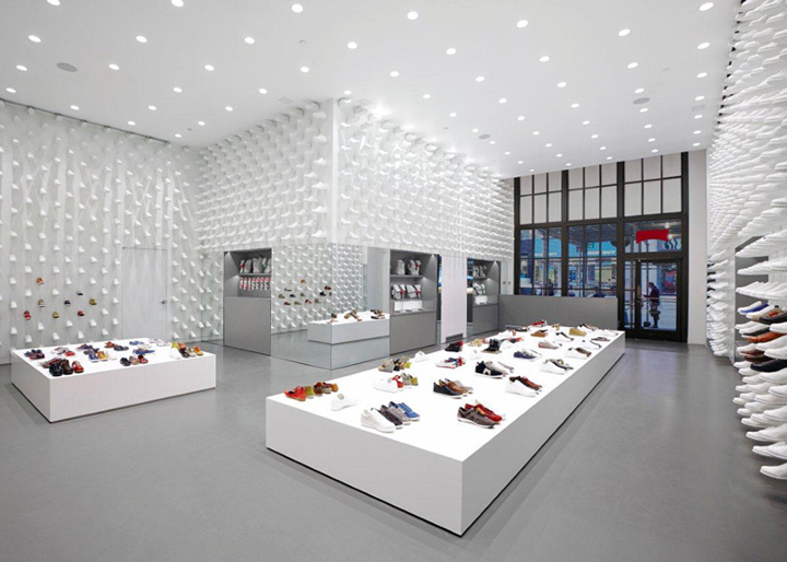 Camper store by Nendo New York Camper store by Nendo, New York