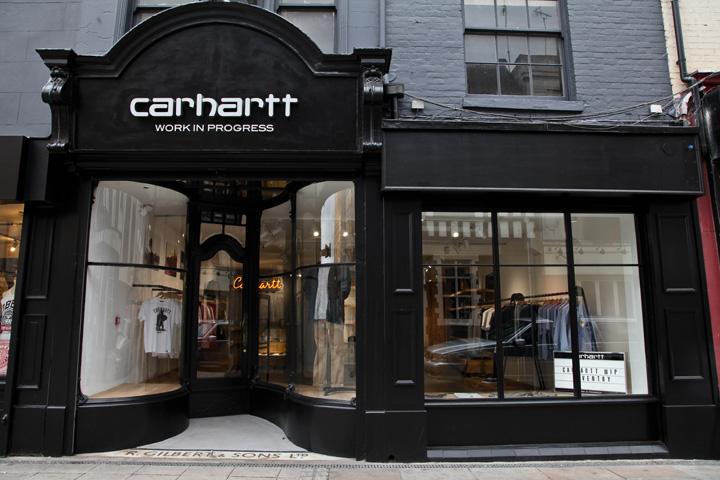 Carhartt WIP store by JDP Architects & Brinkworth ...