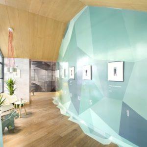 one restaurant by nir portal architects studio beam tel aviv israel. Black Bedroom Furniture Sets. Home Design Ideas