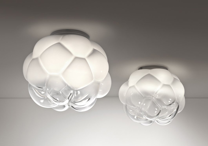TOP 10 FAMOUS LAMPS Cloudy by Mathieu Lehanneur for Fabbian