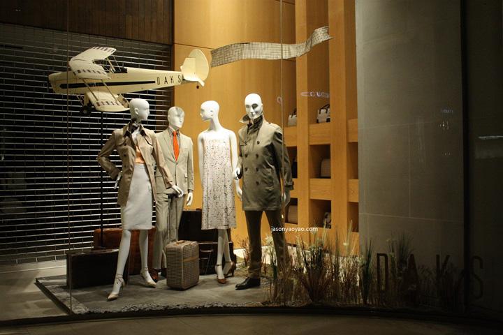 【橱窗设计】2013 邦德街 daks 橱窗 / london