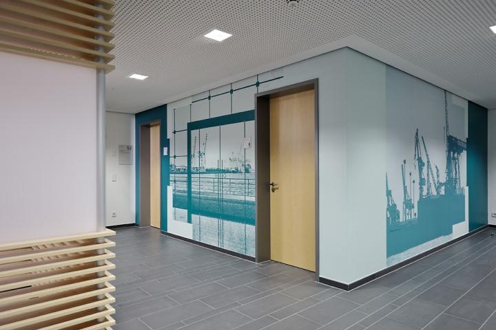 Office Entrance Green