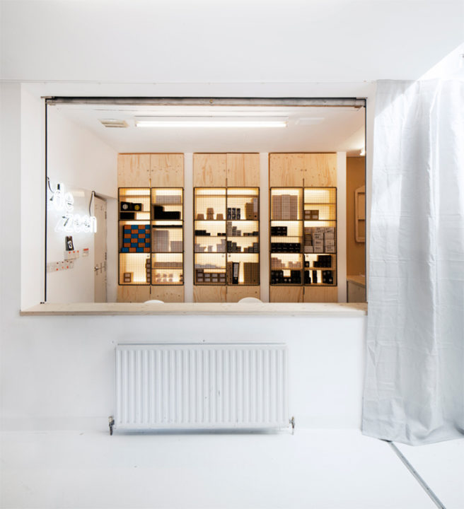 » Dezeen Watch Store Office By POST-OFFICE, London