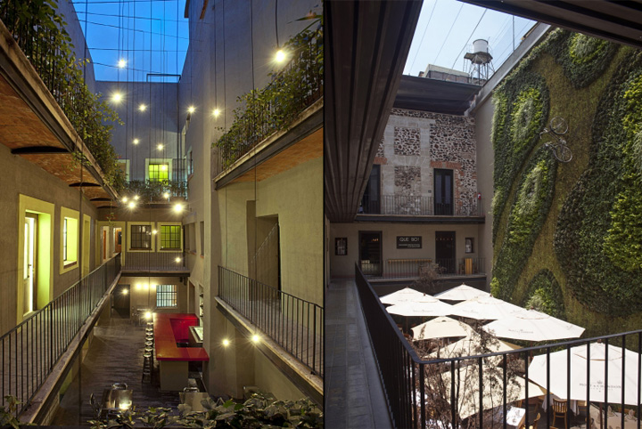 downtown boutique hotel by cherem arquitectos mexico city
