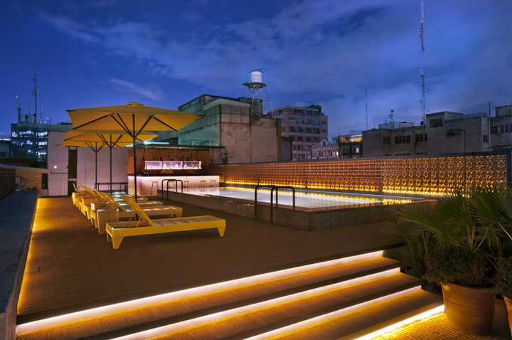 187 Downtown Boutique Hotel By Cherem Arquitectos Mexico City