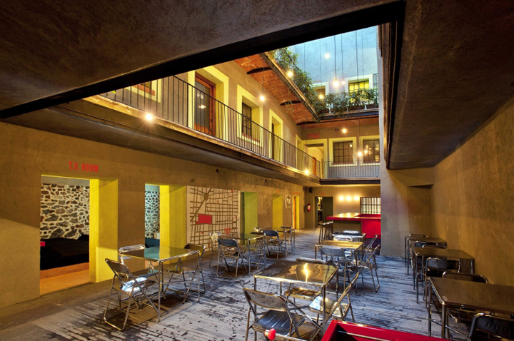 Downtown boutique hotel by cherem arquitectos mexico city for City hotel design
