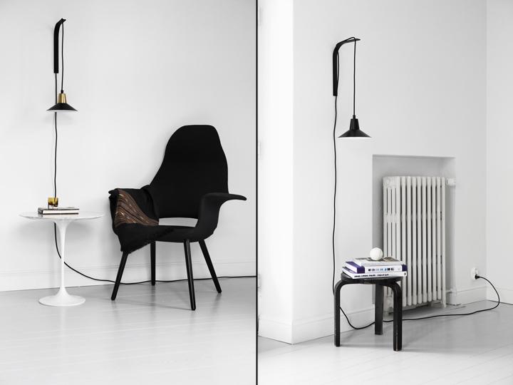 Wall Mounted Pendant Lamps : Edit Lamp by Joanna Laajisto Creative Studio Retail Design Blog
