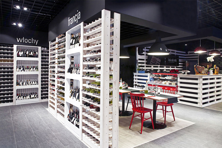 Wine bar search results retail design blog for Luma arredamenti