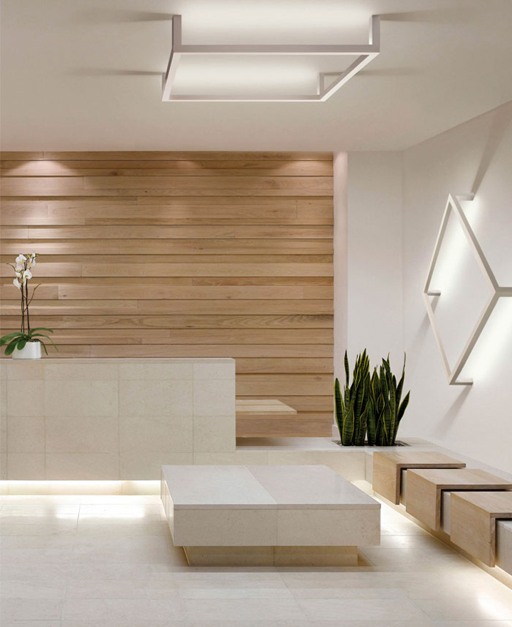 ceiling wall lighting reception - photo #5