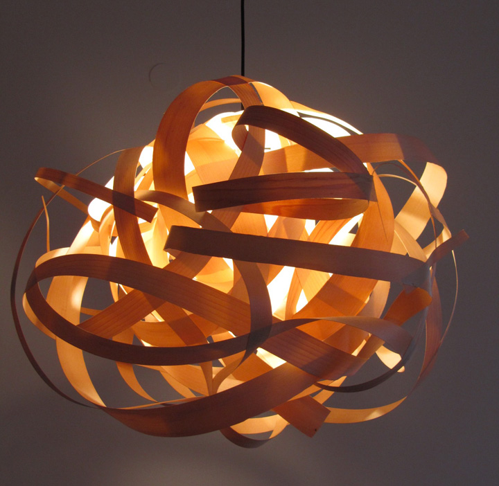 Hand made lampshades by Tzuri and Katharina » Retail Design Blog:Posted ...,Lighting