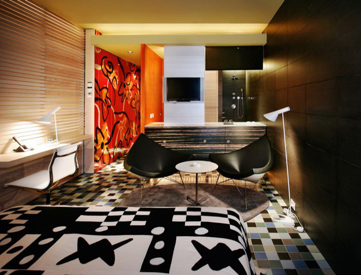 Hotel Silken Puerta Am Rica Madrid Retail Design Blog