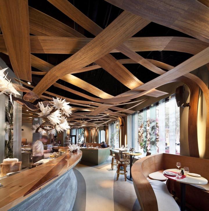 Ikibana restaurant by el equipo creativo barcelona