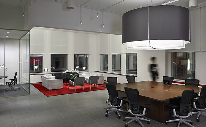 Infor global solutions office by voa associates new york for Office design new york