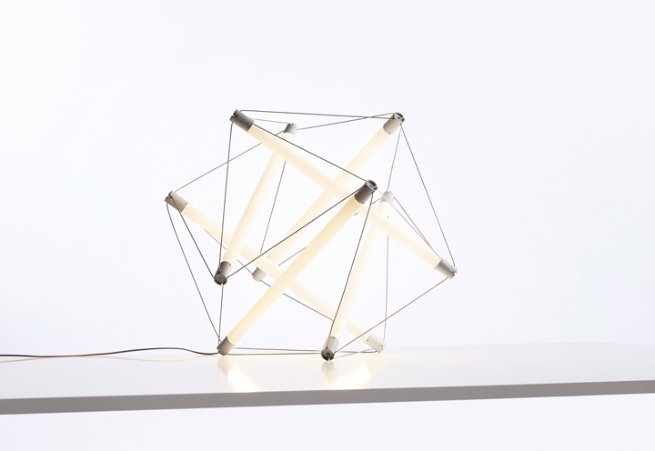 TOP 10 FAMOUS LAMPS Light structure lamp Ingo Maurer
