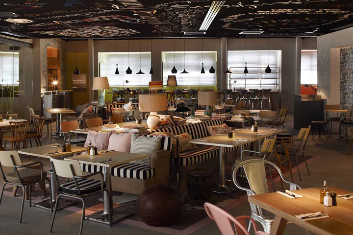 Mama shelter hotel by philippe starck istanbul retail for Decor hotel istanbul
