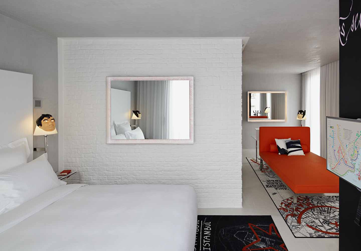 mama shelter hotel by philippe starck istanbul retail design blog. Black Bedroom Furniture Sets. Home Design Ideas