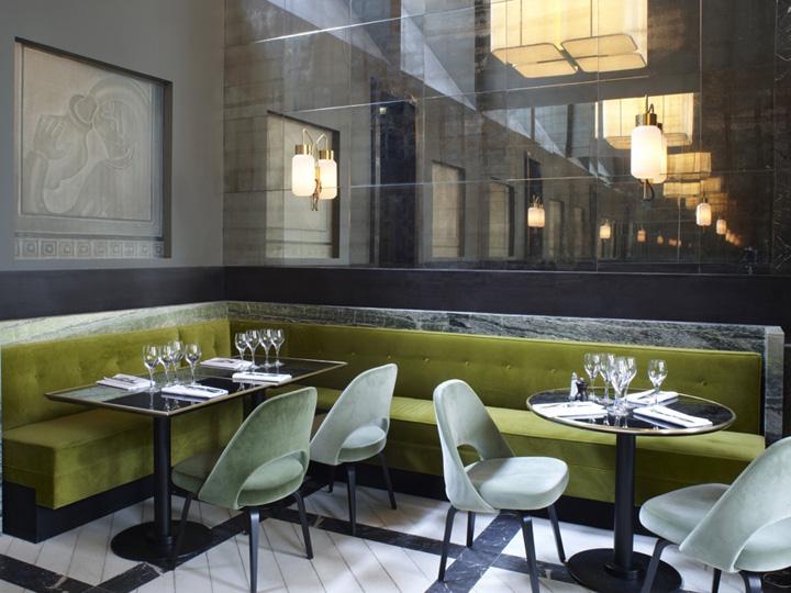 187 Monsieur Bleu Restaurant By Joseph Dirand Paris