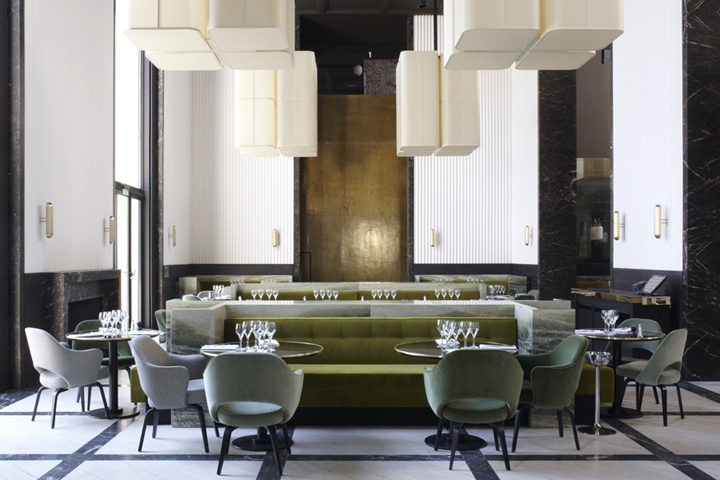 monsieur bleu restaurant by joseph dirand paris