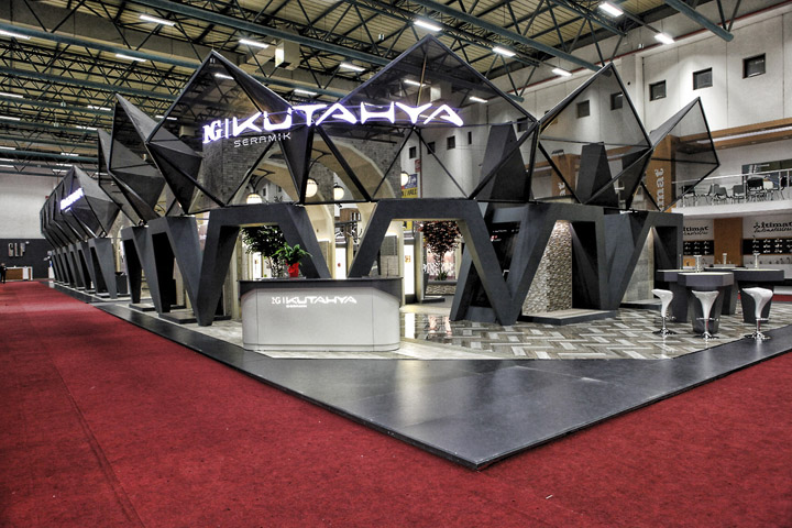 GREATEST EXHIBIT  PROJECTS NG Kutahya Seramik Unicera 2013 Exhibition Stand by SKM Projects Istanbul