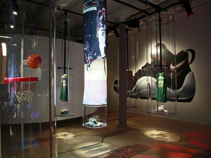Pop Up Stores Nike Zoom Lebron Iv Pop Up Store By Eight