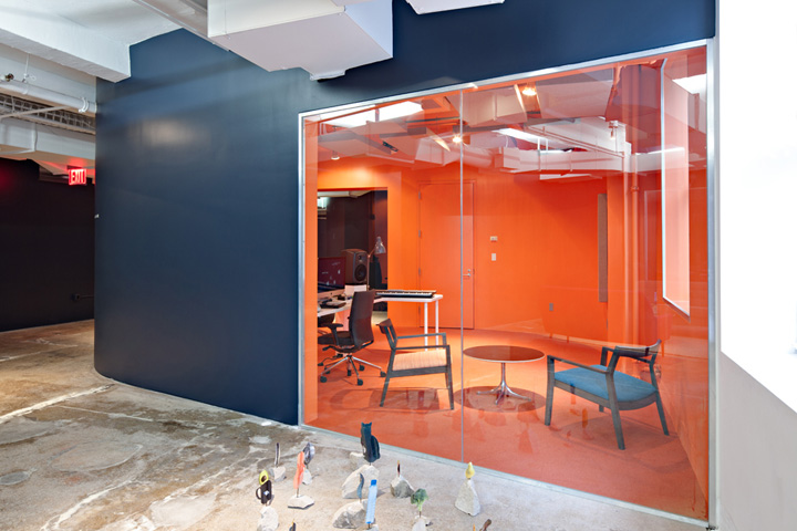 Music Classroom Design : Red bull music academy by inaba new york retail design