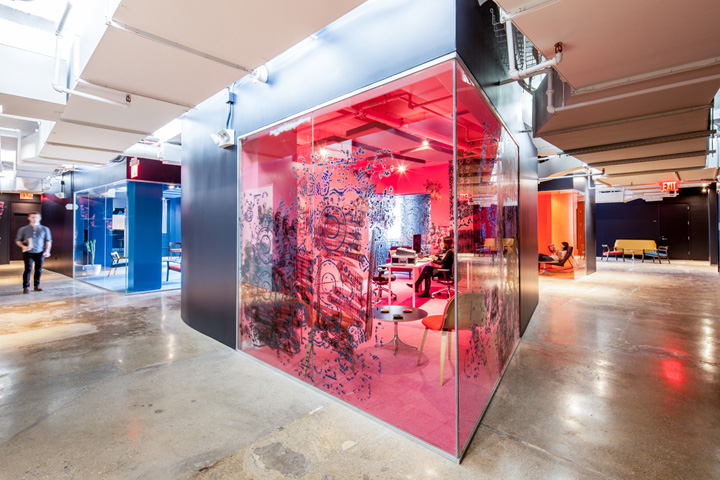 Red Bull Offices red bull » retail design blog