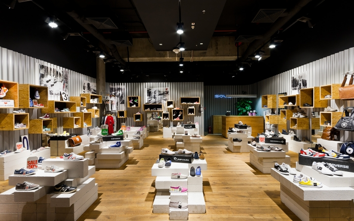soul concept shoe store by a d design warsaw retail design blog