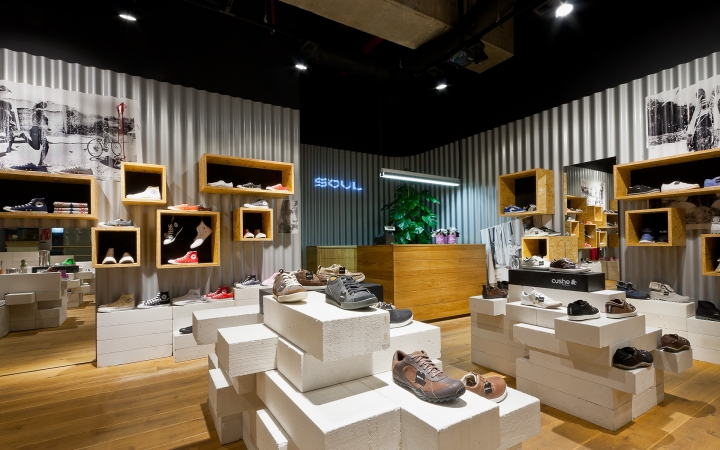 SOUL Concept Shoe Store By AD Design Warsaw Retail