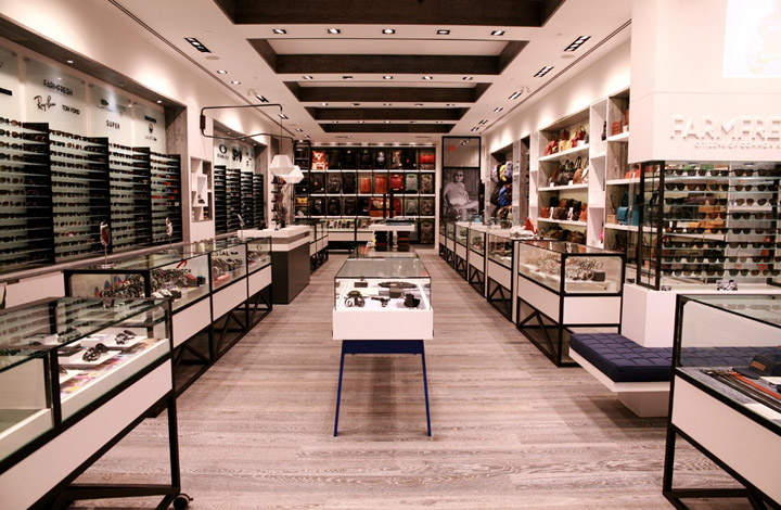 flagship store by cutler calgary canada retail design blog