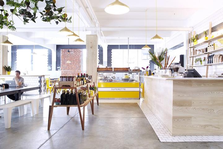 Superette café cape town retail design