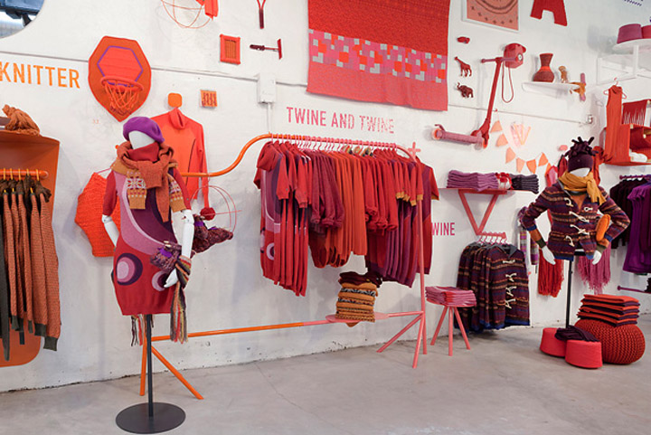 Knitting Stores Nyc : Pop up stores the art of knit by united colors