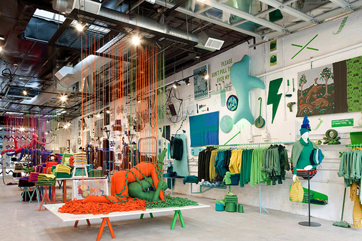 187 Pop Up Stores The Art Of Knit By United Colors Of