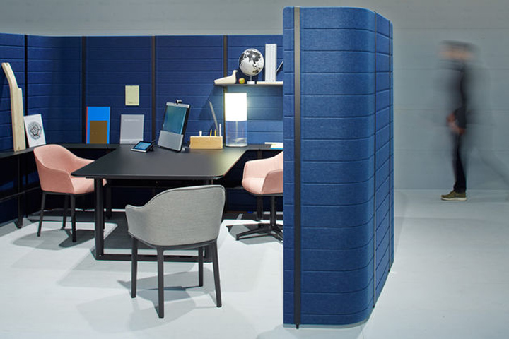 BEST 10  RECENT WORKSPACES IN THE WORLD The Workbay Office by Ronan Erwan Bouroullec for Vitra