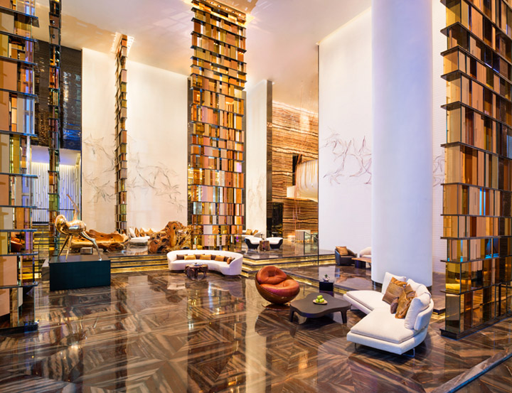 187 W Hotel By Rocco Design Architects Guangzhou China