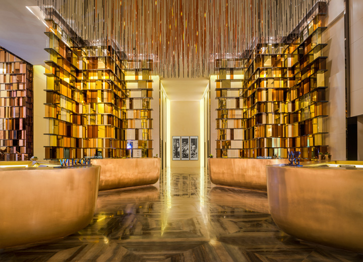 W hotel by rocco design architects guangzhou china for Hotel design blog